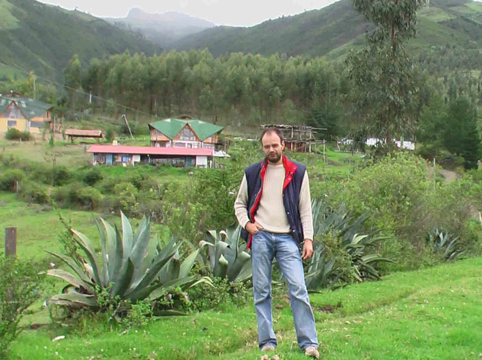 Georg in Ecuador