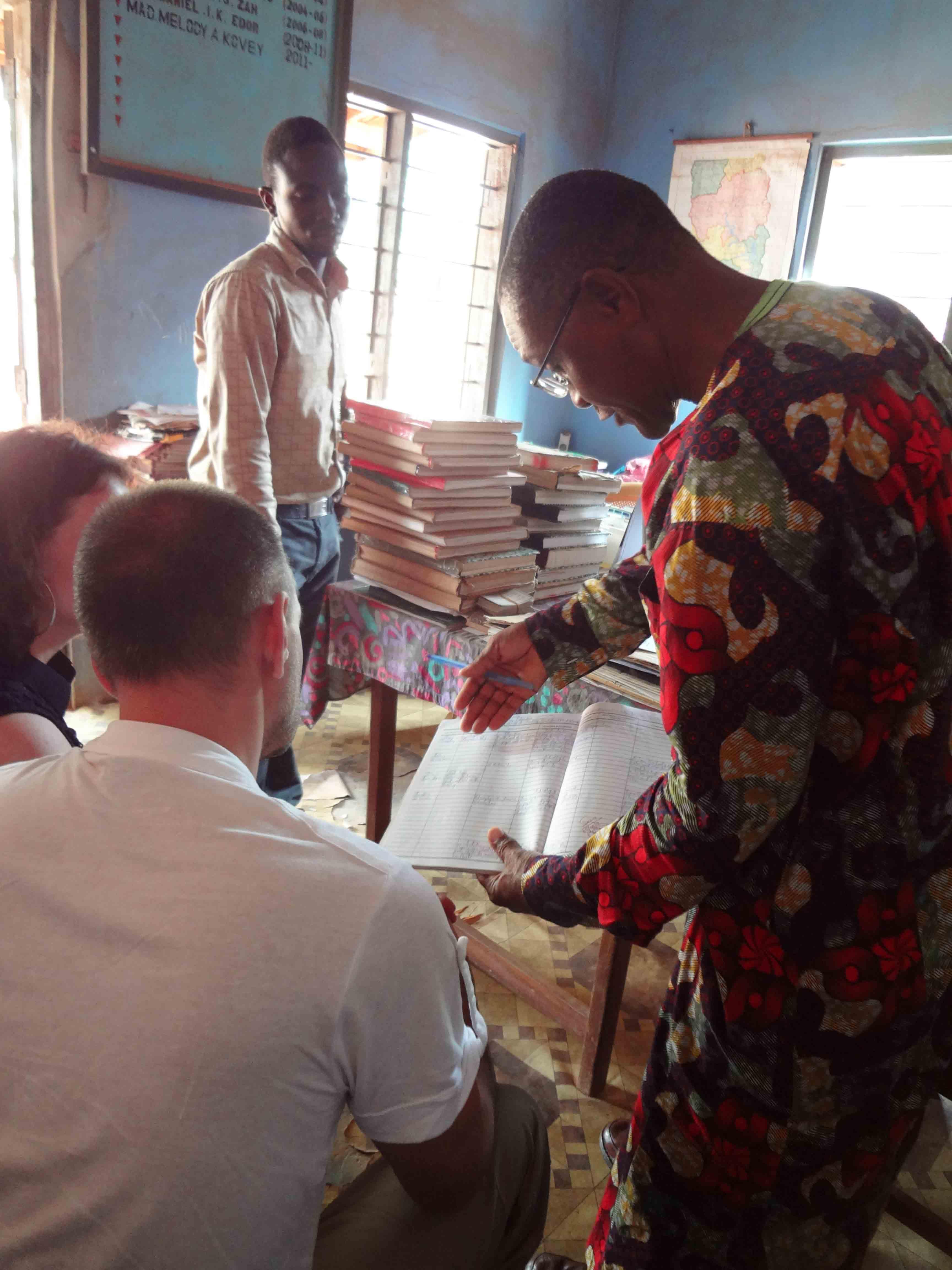 Ghana Klassenzimmer 1